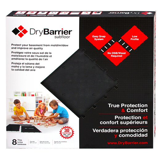 DryBarrier Subfloor True Protection Comfort - Dry barrier subfloor