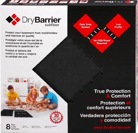 DryBarrier Product Packaging